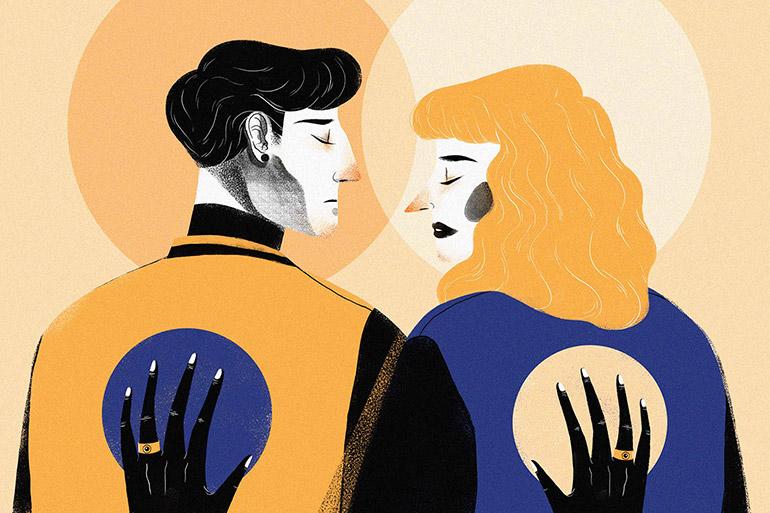 Illustrations matiérées par Meel Tamphanon