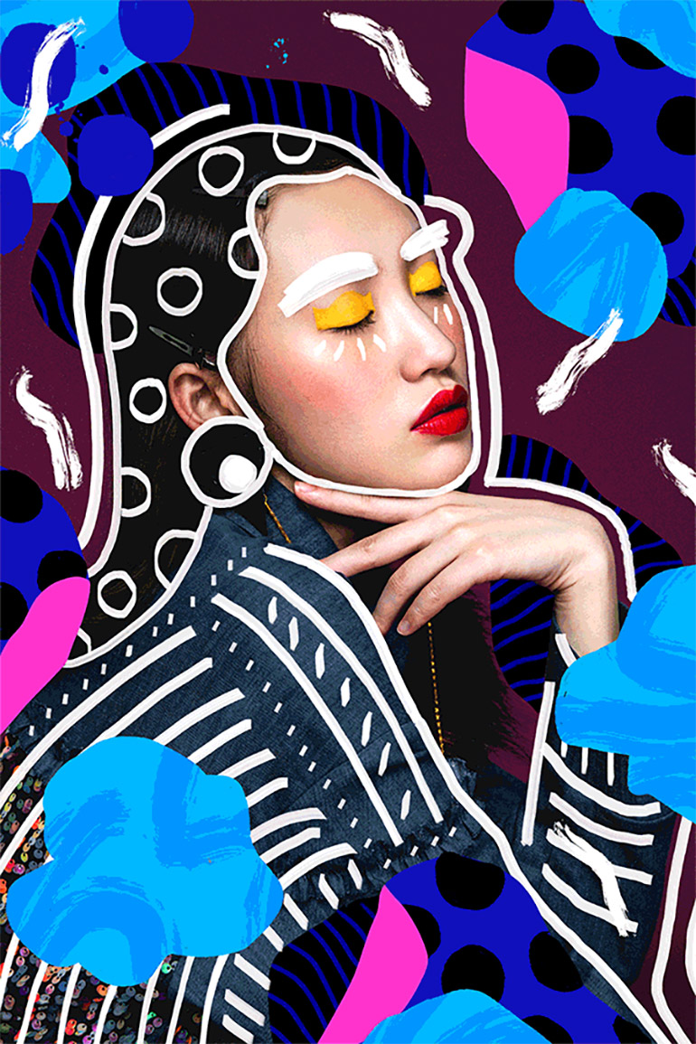 Mix paintings photos by Andreea Robescu