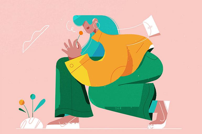 Illustrations et croquis par Magdalena Koźlicka