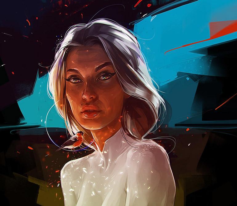 Digital paintings by Viktor Miller-Gausa
