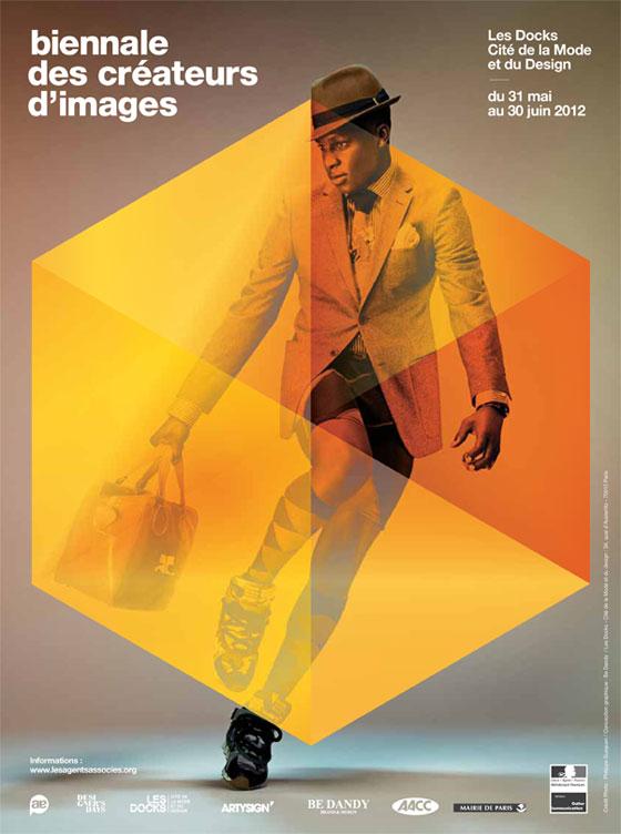 Affiche de la biennale des créateurs d'images