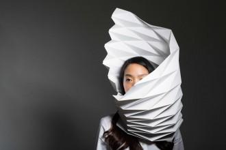 Intricate paper cut by Christine Kim
