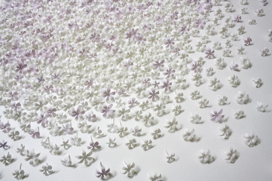 Paper art et expérimentations papier par Sachin Tekade