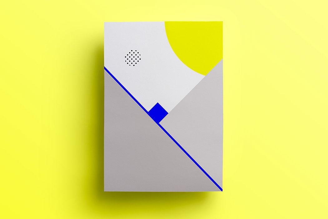 Les compositions géométriques de la graphiste Isabella Conticello