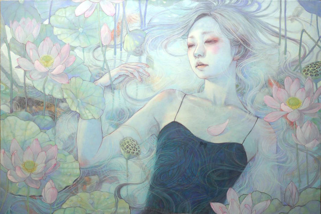 Peintures fantasmagoriques par l'artiste Miho Hirano