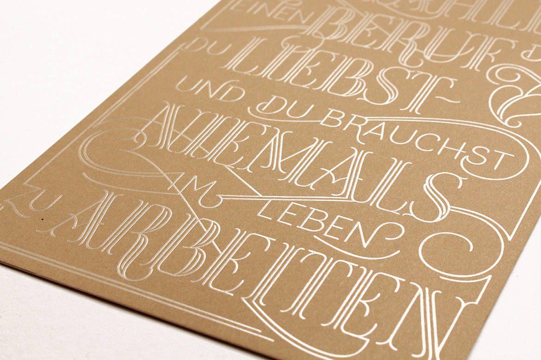 Dessin de lettres vectoriel par Martina Flor