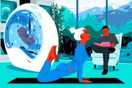 Les illustrations hyper colorées de Sua Balac