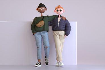 dessin de personnages par cabeza patata