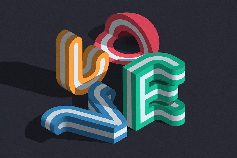 Graphisme et typographie par Mario De Meyer