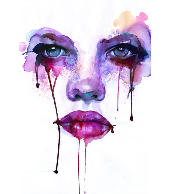 Stunning watercolors by Marion-bolognesi