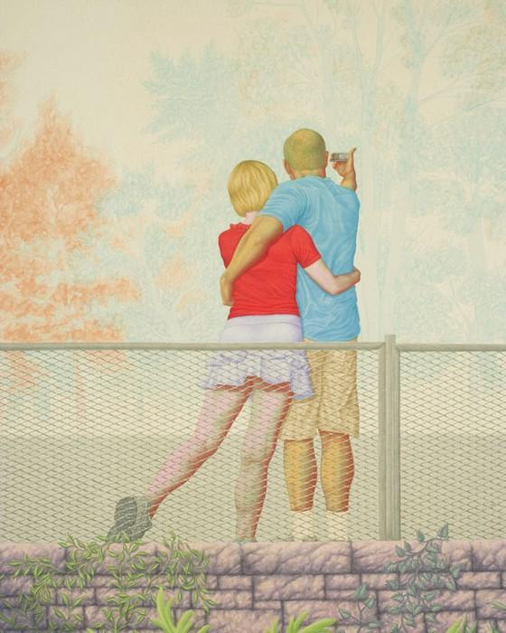 landscape painting by micah ganske