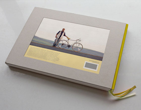 Cyclists portraits, a book designed by Gabrielle Guy
