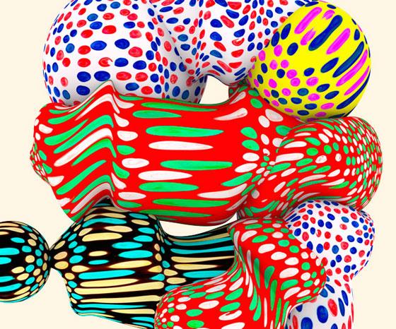 3D patterns by Santtu Mustonen