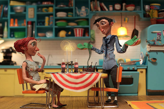 New works from Chris Sickels of Red Nose Studio