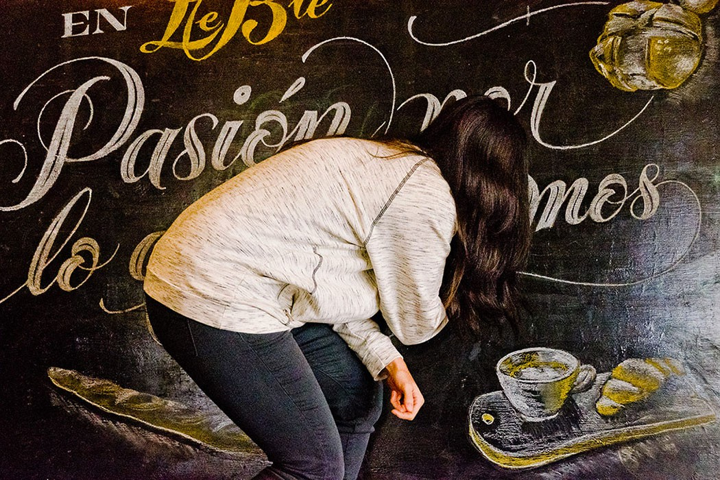 Lettering and illustrative calligraphy by Yani & Guille