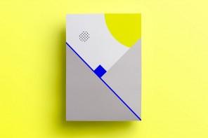 Geometric compositions by graphic designer Isabella Conticello