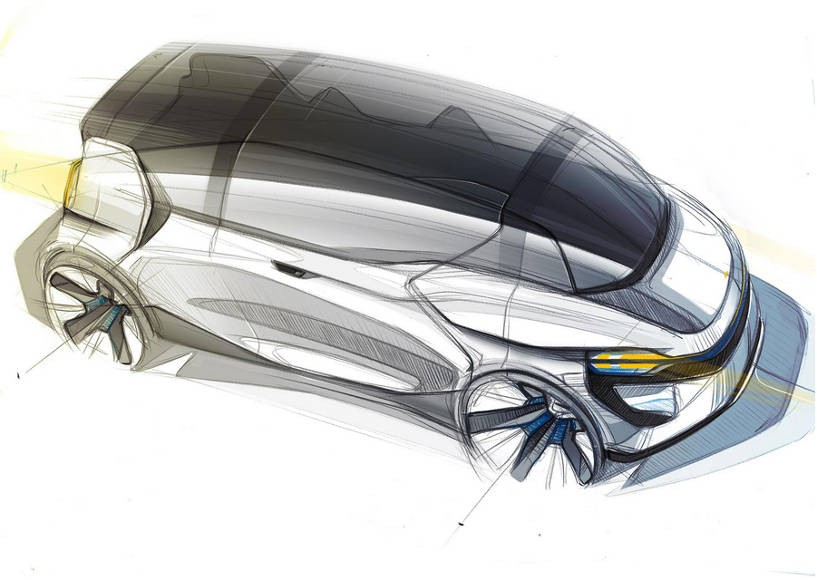 Transportation design by awarded Clément Porée