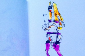 Urban sketches and free drawings by Felix Scheinberger