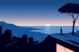 Elegant illustrations by Thomas Danthony