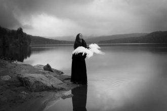 Dark and poetic self portraiture by Maren Klemp