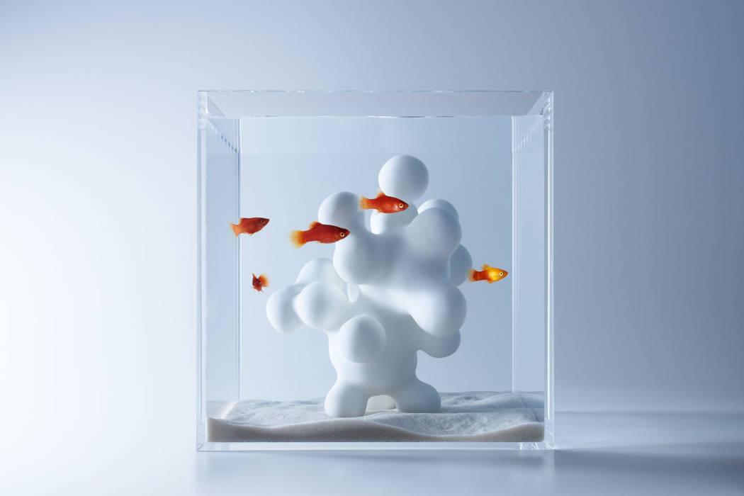Subtle paper art and design by Haruka Misawa