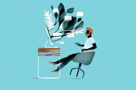 Elegant trendy illustrations by Borja Bonaque