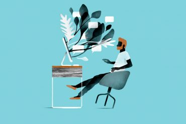 Elegant trendy illustrations by Borja Bonaque