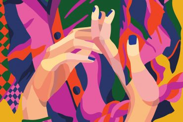 Colorful expressive illustrations by Léa Taillefert