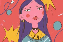 Manga illustrations from Mercedes Bazan