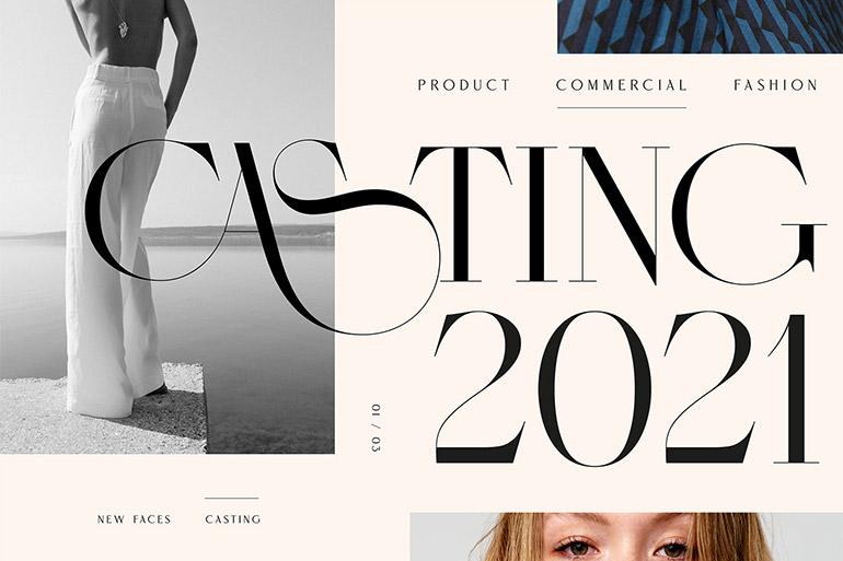 Typographie et design par Miklós Kiss