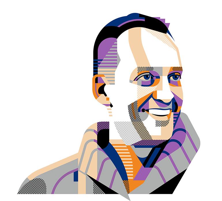Geometric portraits by Aleksandar Savić