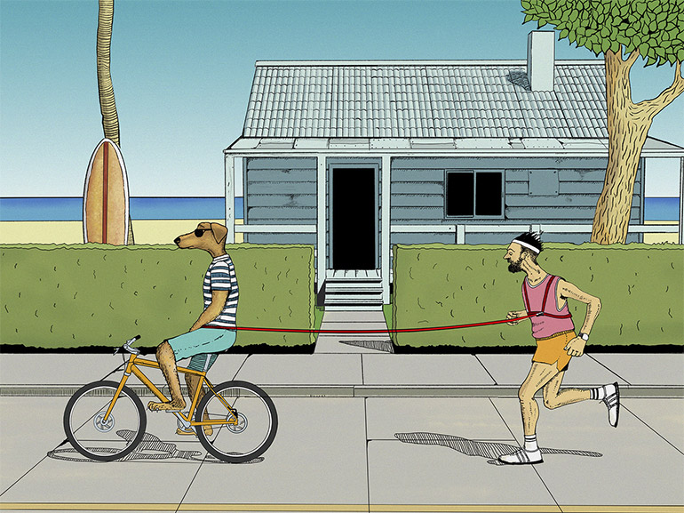 Funny illustrations by Arne Hoepfner