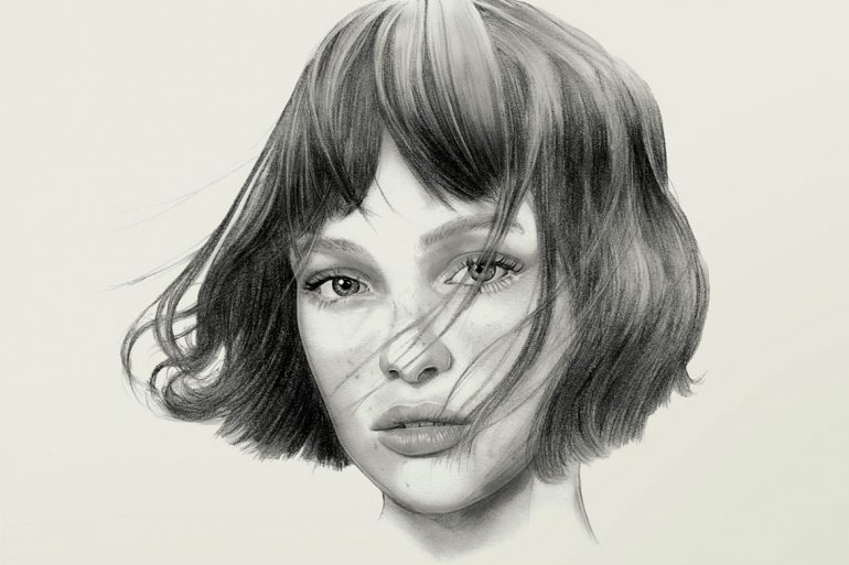 Photorealistic drawings by Lucie Birant
