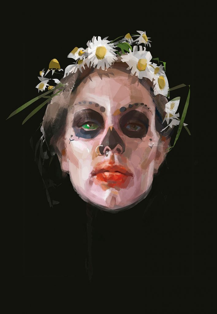 Portraits painted by Svetlana Kalinicheva